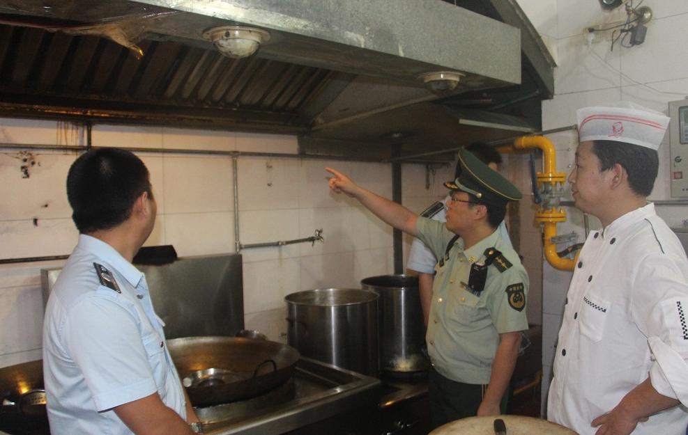 餐饮行业需安装可燃气体报警装置