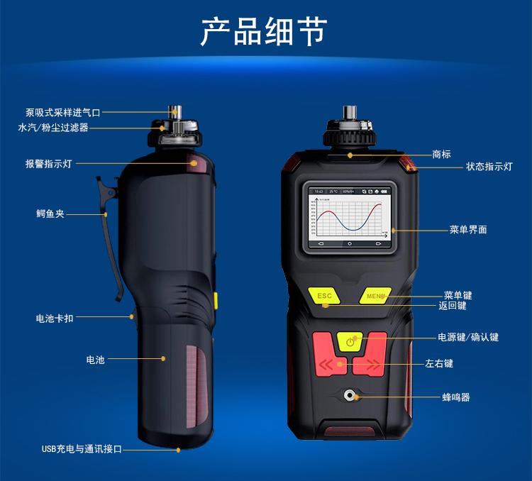 <strong>泵吸式丙烯酰胺气体报警器</strong>