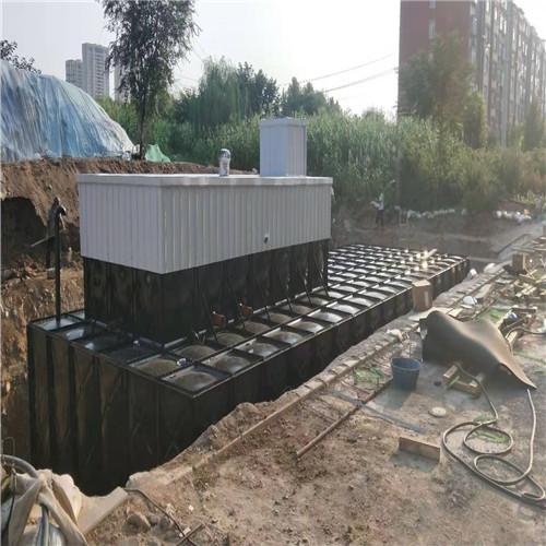黑龙江地埋箱泵一体化消防泵站无底板