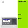 heidenhain ND287 ID:636287-01数显表