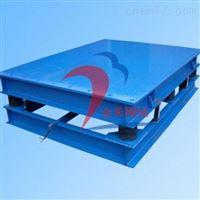 金禾牌大型水泥防護門專用加厚型振動平臺